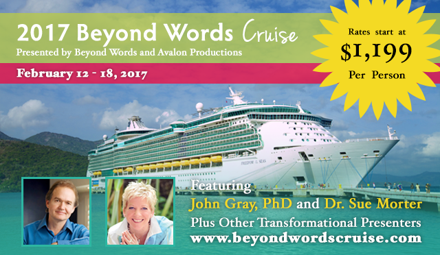 Beyond Words Cruise banner